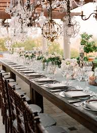 West Coast Decorating Style All Of The Adults Sat At The Custom Harvest Table Photo By Little