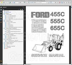 ford 555c backhoe alternator wiring ford image ford 455c 555c 655c tractor repair shop service manual tlb loader on ford 555c backhoe alternator