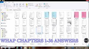 Whap | Chapters 1-36 | All Test And Quiz Answers (With Actual Papers ...