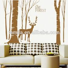 self adhesive love forest deer wall art sticker on self adhesive wall art stickers with self adhesive love forest deer wall art sticker buy islamic wall