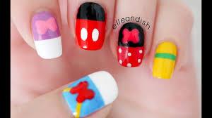 Mickey Mouse Disney Princess Nail Art - Vtwctr