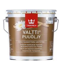 <b>Масло</b> Tikkurila Valtti Puuoljy для наружных <b>деревянных</b> ...