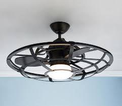 flush mount caged ceiling fan. Unique Mount Ceiling Glamorous Cage Enclosed Fans Flush Mount  Fan With Light Design Inside Caged I