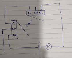 How To Design A Motor Motor With Two Endstops Using Limit Switches Electrical