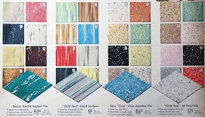 vintage flooring options 1950s spiegel catalogue