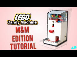 MM Candy Vending Machine Impressive Lego Candy Machine MM Edition Instructions Tutorial YouTube