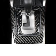 <b>lsrtw2017 carbon fiber car</b> gear panel trims for subaru forester 2008 ...