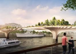 Small Picture Thomas Heatherwick reveals garden bridge designed for River Thames