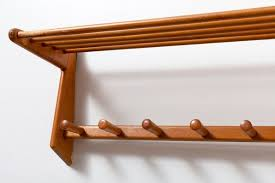 Brass Coat Rack Wall Mounted Coat Racks astonishing mid century coat rack midcenturycoatrack 66