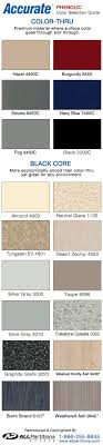 Phenolic Bathroom Partition Color Charts Accurate Global
