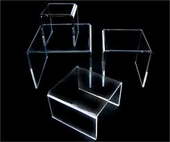 Clear Stands For Display Plastic Display Risers Clear Acrylic Risers Clear Acrylic Stands 14