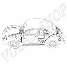 151971011d wiring harness complete 1962 1964 convertible vw more views