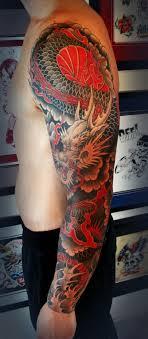 тату рукав у парня в стиле япония фото рисунки эскизы