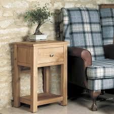 mobel solid oak reversible. mobel solid oak 1 drawer lamp table bedside baumhaus space u0026 reversible