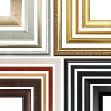 custom wood frames