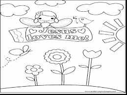 Jesus Loves Me Coloring Page 15 With Free Printable Pages For Kids