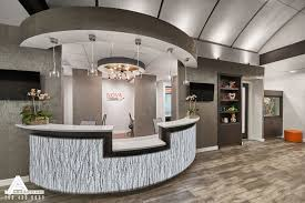 orthodontic office design. Curved And Open Reception Desk. Dental Office Design By Arminco Inc. Orthodontic R