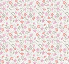 Cozz Smile Bloemetjes Behang Roze Koraalrood 61163 14 De