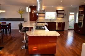 Penny Kitchen Floor Glossy Red Laminate Custom Kitchen Remodel Wl Rubottom