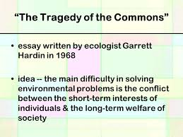 science the environment ppt video online  the tragedy of the commons