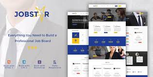 Website Builder Templates Best Job Board PHP Website Templates From ThemeForest