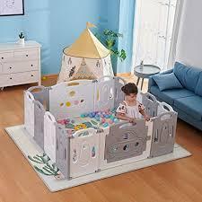 <b>Foldable Baby playpen</b> Baby Folding Play Pen Kids Activity Centre ...