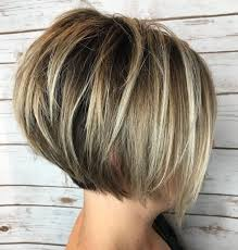 Hairstyles Thin Hair Short Layered Hairstyles Thick Look For Women