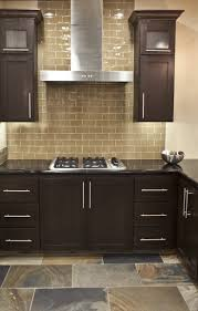 Large Tile Kitchen Backsplash 25 Best Ideas About Glass Subway Tile Backsplash On Pinterest