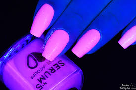 Simply Nailogical Playing With Glow In The Dark Nail Polish