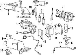 parts com® chevrolet oxygen sensor partnumber 12671387 2011 chevrolet silverado 3500 hd lt v8 6 6 liter diesel diesel aftertreatment system