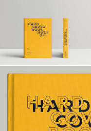 Mockup Book Hardcover Graphicburger 2