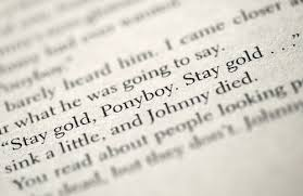 "Ponyboy Quotes Magnificent Stay Gold Ponyboy"" So This Is Life"