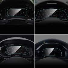 Araç gösterge paneli ekran koruyucu için Volkswagen VW T ROC Touran Bora  Phideon oto iç Film araba aksesuarları|Automotive Interior Stickers