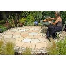Small Picture stone circle paving Google Search Garden Pinterest Gardens