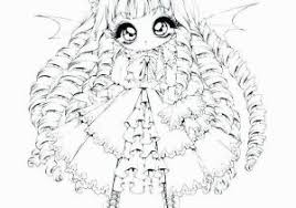 Chibi Anime Girl Coloring Pages Cute Anime Chibi Girl Coloring Pages