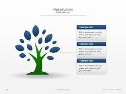 tree diagram powerpoint tree diagram presentation template presentationdesign nature