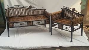 wrought iron and wood furniture. WROUGHT IRON FURNITURE 01 - Wrought Iron Wooden Jhula Swing Manufacturer From Saharanpur And Wood Furniture A