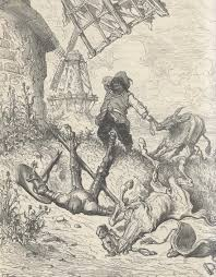 Image result for doré's illustrations for don quixote