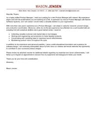 Cio Cover Letter Web Content Cover Letter Example Amazon Product Manager