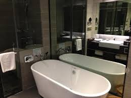 big bath room with bathtub and shower picture of hotels with large bathtubs glasgow