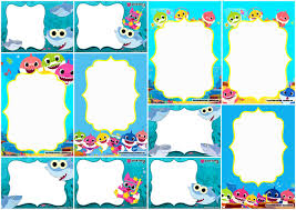 Baby Shark Party Free Printable Invitations Oh My Baby