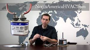 How to Wire a 4 Wire AC Condenser Fan Motor - YouTube
