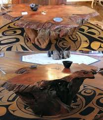 tree root coffee table live edge redwood coffee table with a root base gorgeous tree root