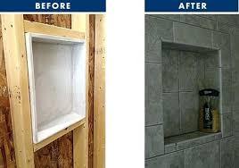 tiling niches bathroom
