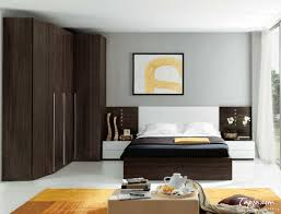 Charming ... Bedroom Cupboard Designs And Colours With Beautiful Wooden Cupboard  Brown Color And Black Bedding Pictures 211 ...