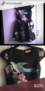 Ted Baker Dress Size Chart Nwot Ted Baker Bird Dress Stunning Never Worn Ted Baker