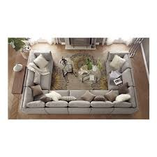 if i had a large enough living room this sofa layout would be wonderful big living room couches