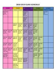 Schedule To Print Member Login 620 Dance Centre
