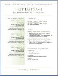 Word Resume Template 2013 Extraordinary Free CV Templates 28 To 28 Free CV Template Dot Org Resume Templates