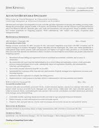 Sample Accounts Receivable Clerk Cover Letter Accounts Receivable Skills Resume 10 Accounts Receivable